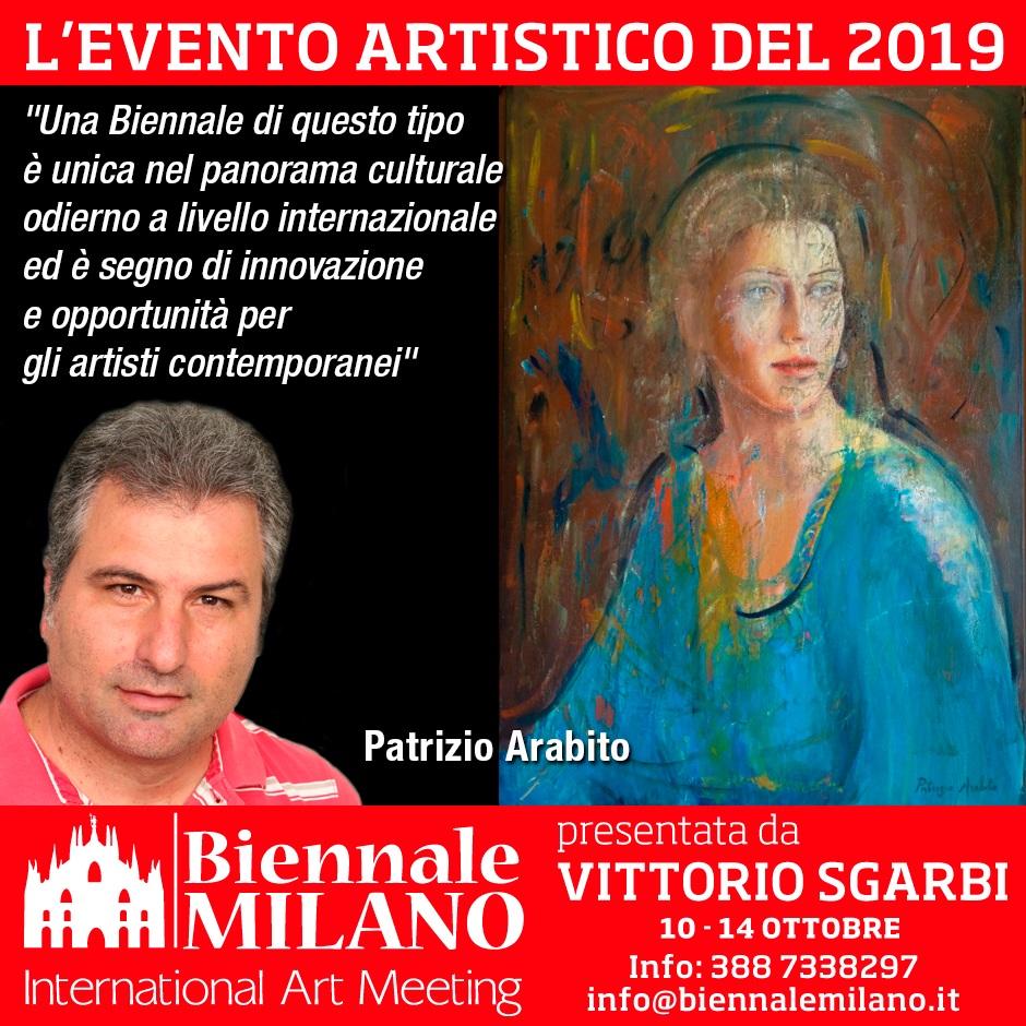 Arabito Patrizio - Biennale di Milano 2019