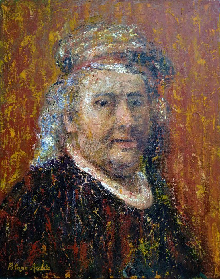 Autoritratto di Rembrandt (1669)