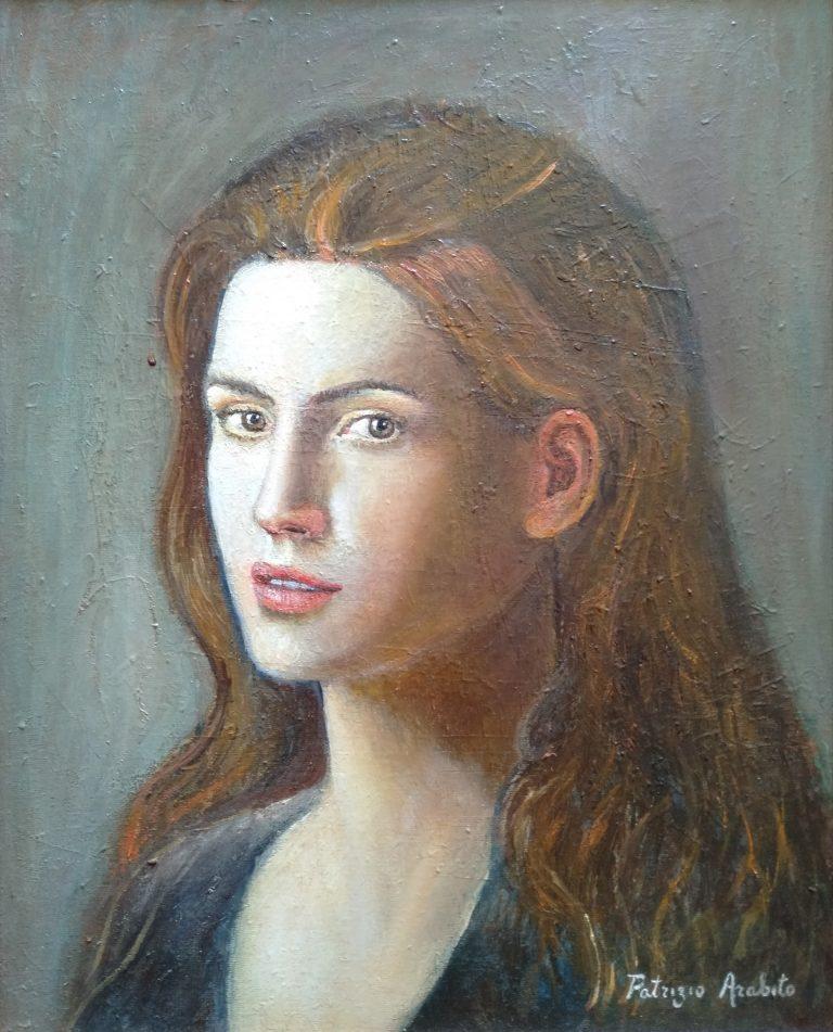 Donna con capelli rossi