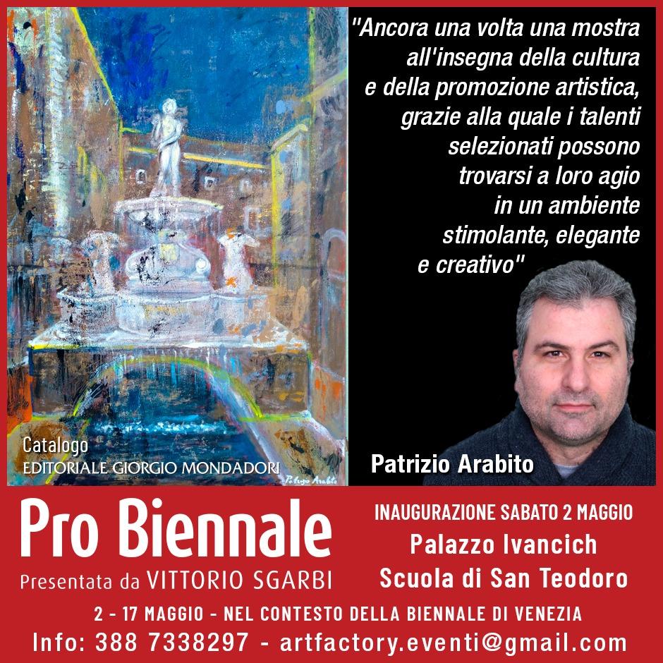Patrizio Arabito - Pro Biennale 2020