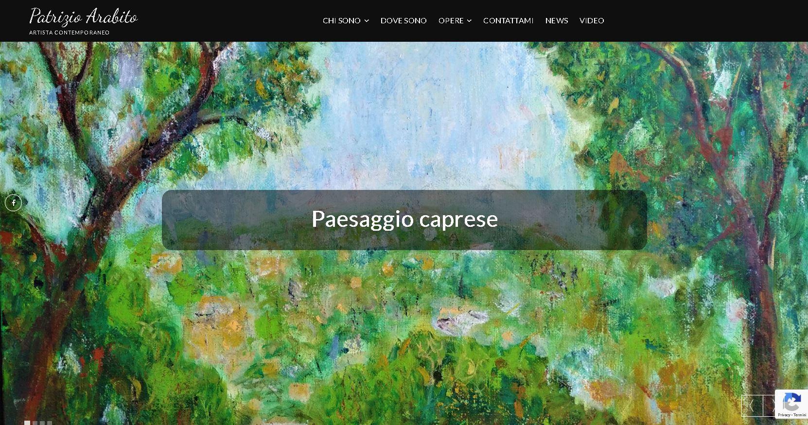 Patrizio Arabito - sito d'artista